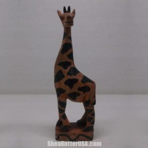 African Hand Carved Giraffe