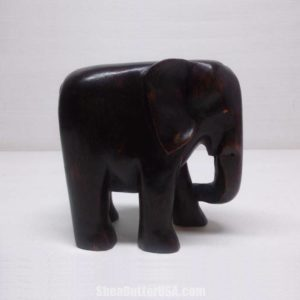 African Hand Carved Elephant