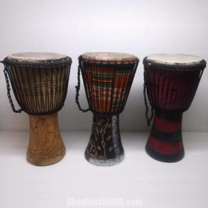 African Djembe Drums from SheaButterUSA.com