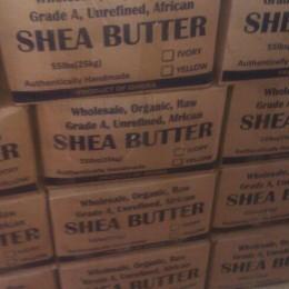 55lbs Unrefined Shea Butter
