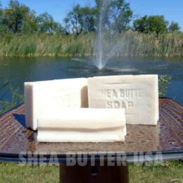 Wholesale White Shea Butter Soap