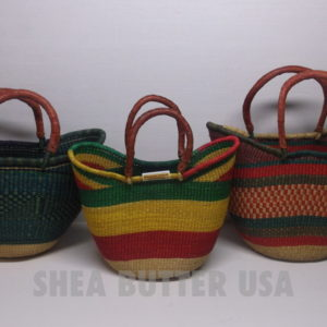 authentic african bolga baskets