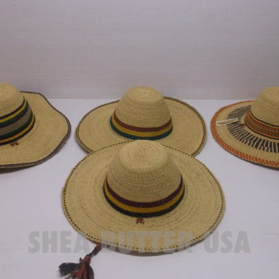 authentic african straw hats
