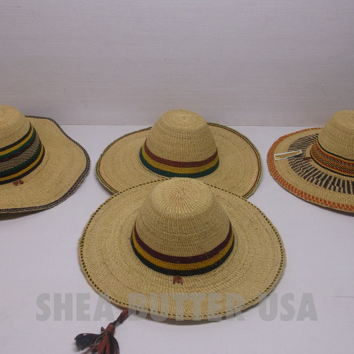 81d04b3122f Authentic African Straw Hats from Ghana